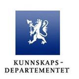 Kunnskapsdepartementets logo