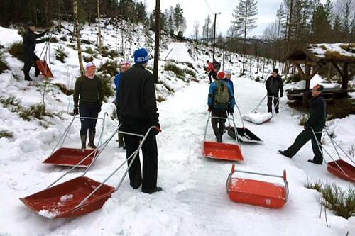 Enorm dugnadsinnsats berger Rindalsrennet 2015. Foto: Rindal IL.