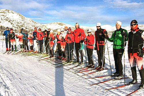 Oseberg Skilag er klare for Osebergrennet 2016. Arrangørfoto.
