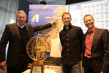 Arctic race pressekonf thor hushovd 2016