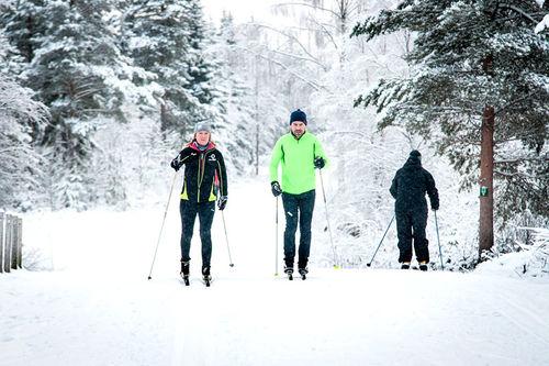 Mange skiløpere søker seg til Trysil hvor vinteren starter tidlig og er snørik. Foto: Destinasjon Trysil/Hans Martin Nysæter.