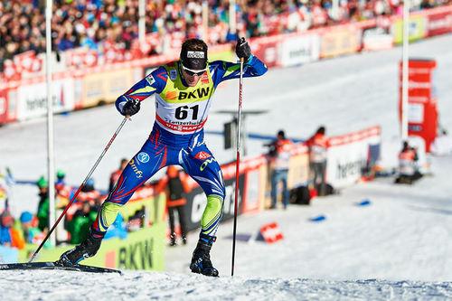 Jean Marc Gaillard ute på første etappe av Tour de Ski 2016. Foto: Felgenhauer/NordicFocus.