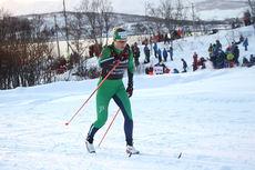 Astrid Uhrenholdt Jacobsen har stø kurs mot pallens øverste trinn på 10 km klassisk under NM i Tromsø 2016. Foto: Erik Borg.