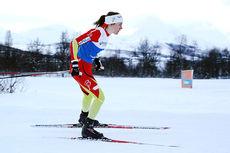 Heidi Weng var best i damenes sprintprolog under NM i Tromsø 2016. Foto: Erik Borg.