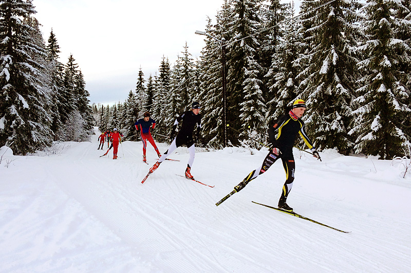 Illustrasjonsbilde fra NTG Lillehammer langrenn sin infosamling en tidligere vinter. Foto: NTG Lillehammer.