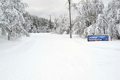 Bilde tatt foran Tromsø Skimaraton 2016. Arrangørfoto.