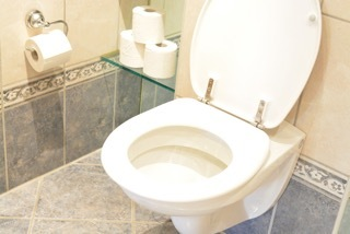 Toalett-bad