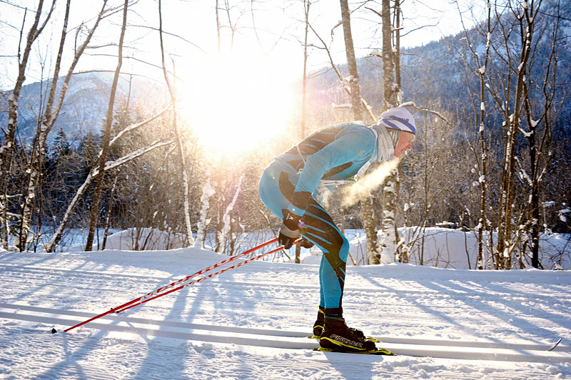 Tøffe påkjenninger for luftveiene å gå skirenn i kulda. Foto: Felgenhauer/NordicFocus.