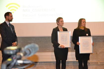 Kronprins Haakon deler ut Trygg Bruk-prisen 2016
