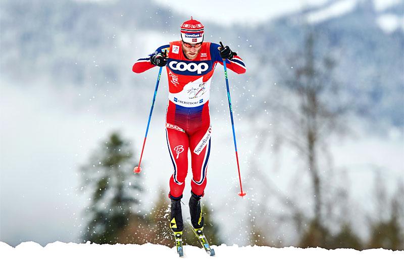 Martin Johnsrud Sundby under Tour de Ski 2016, hvor han også der viste sin store kapasitet og styrke i stakingen. Foto: Felgenhauer/NordicFocus.