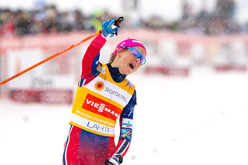 Therese Johaug. Foto: Laiho/NordicFocus.