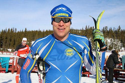 Håvard Hansen vant og knuste løyperekorden i Mellerunden 2016. Foto: Inger Helene Nybråten.