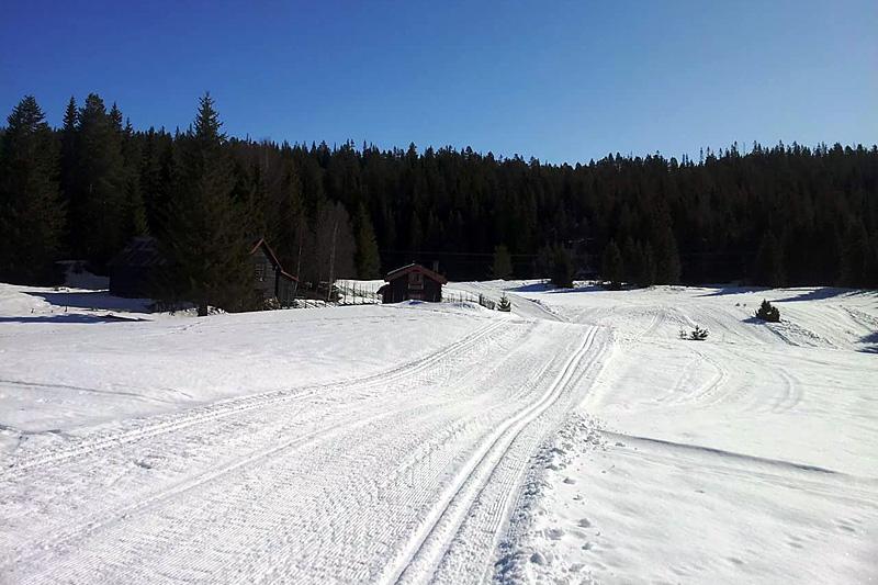 Fra den nye traséen til Marit Bjørgen-rennet. Foto: Martin Ree.