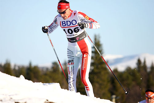 Anders Aukland. Foto: Geir Nilsen/Langrenn.com.