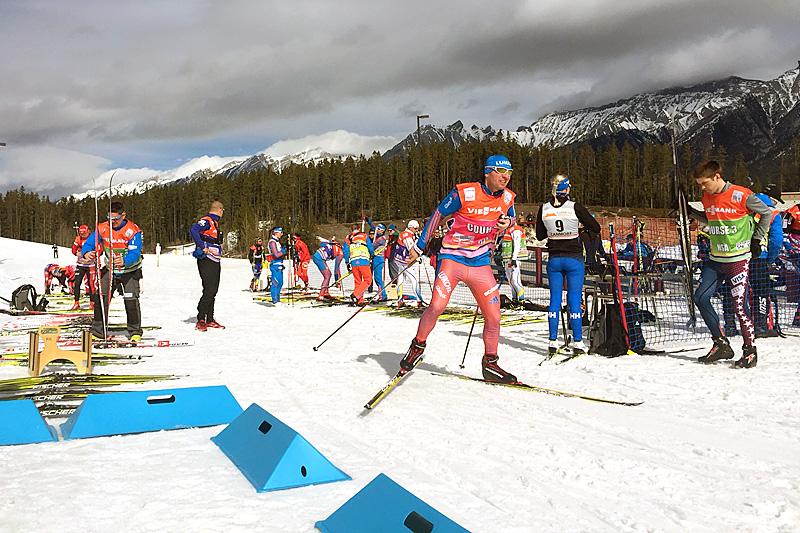 Testing av ski før 8. og siste etappe i Ski Tour Canada 2016. Foto: Morten Sætha/Swix.