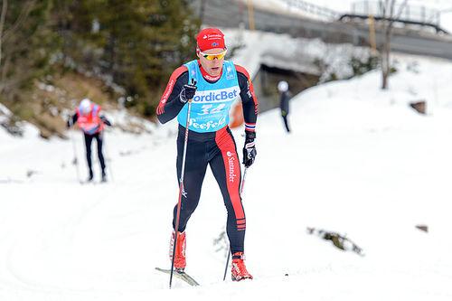 Øyvind Moen Fjeld i Kaiser Maximilian Lauf 2016. Foto: Rauschendorfer/NordicFocus.
