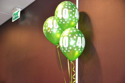 FUG 40 år ballonger