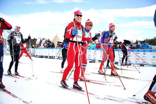 Illustrasjonsbilde fra Birkebeinerrennet. Foto: Geir Nilsen/Langrenn.com.