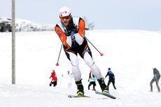 Martin Johnsrud Sundby på vei mot gull på 10 kilometer i fri teknikk under NM på Beitostølen 2016. Foto: Erik Borg.