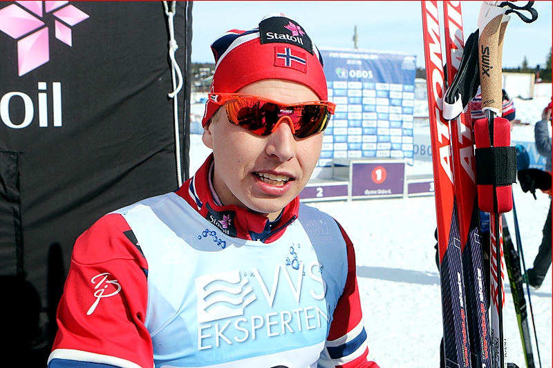 Simen Hegstad Krüger. Foto: Erik Borg.