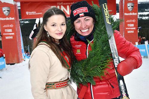 Justyna Kowalczyk gikk til topps i Årefjällsloppet 2016. Foto: Magnus Östh/Visma Ski Classics.