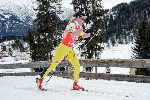 Astrid Øyre Slind i Kaiser Maximilian Lauf og Visma Ski Classics. Foto: Rauschendorfer/NordicFocus.