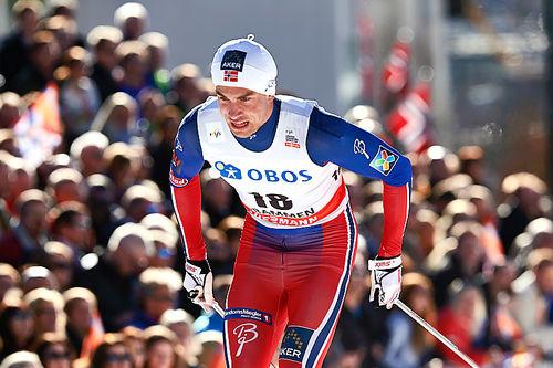 Tomas Northug under verdenscupen i Drammen en tidligere sesong. Foto: Felgenhauer/NordicFocus.