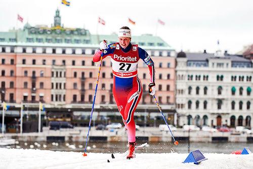 Kari Vikhagen Gjeitnes under verdenscupen i Stockholm 2016. Foto: Felgenhauer/NordicFocus.