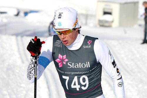 Harald Østberg Amundsen. Foto: Erik Borg.