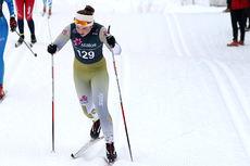 Katrine Seim underveis i junior-NM på Vang og Gåsbu 2016. Foto: Erik Borg.