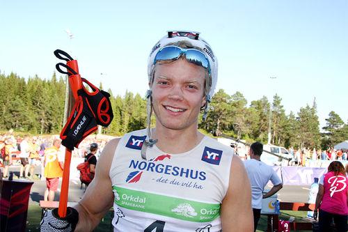 Eirik Brandsdal i Toppidrettsveka. Foto: Geir Nilsen/Langrenn.com.