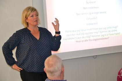 Marianne Grønn med foil