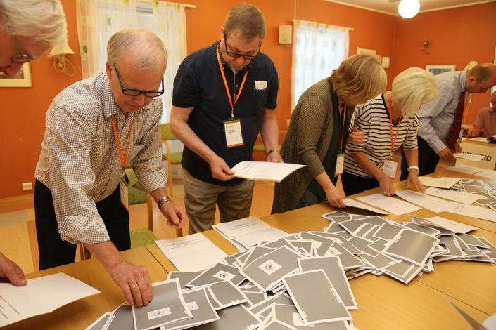 Valg Fauske sentrum kommunereformen opptelling