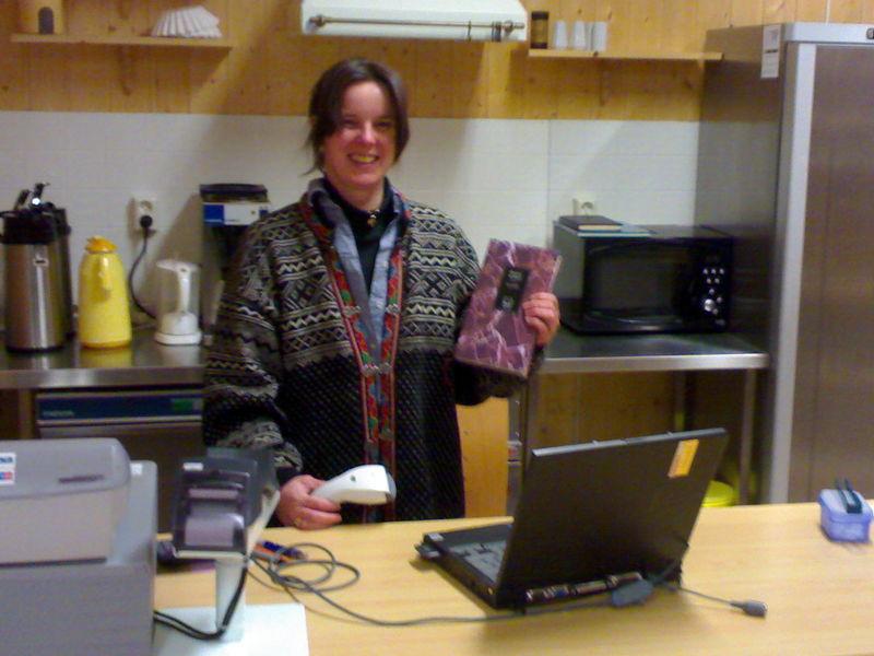 Gunn Helen Mathisen, Svanvik bibliotekfilial