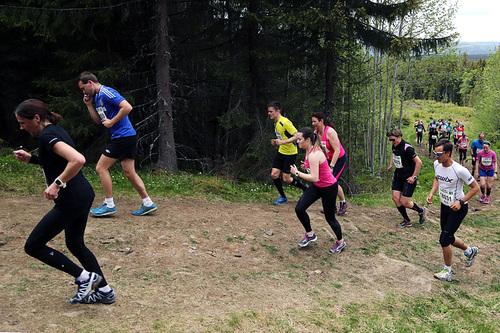 Løpetrening er førsteprioritet for Birkentrippel-vinner Anne Nevin. Foto: Birken AS/Geir Olsen.