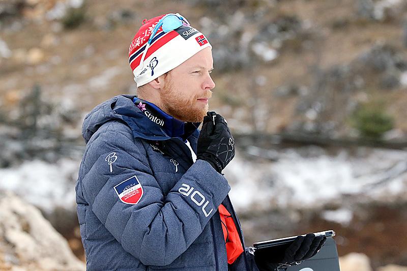 Anders Byström forteller at de på juniorlandslaget og i Norges Skiforbund tar vektproblematikken på alvor. Foto: Erik Borg.