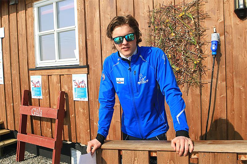 Petter Reistad går college i USA på skistipend og anbefaler flere langrennsløpere å vurdere ordningen. Foto: Erik Borg.