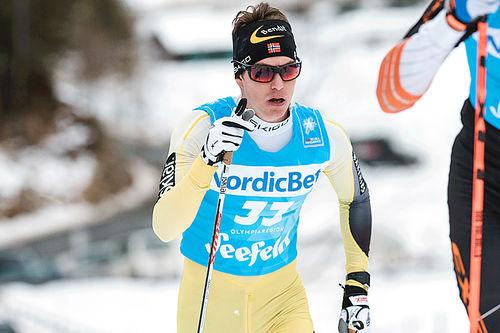 Vetle Thyli må flytte bort fra snøsikre Lillehammer for å fortsette på Team United Bakeries. Foto: Rauschendorfer/NordicFocus.