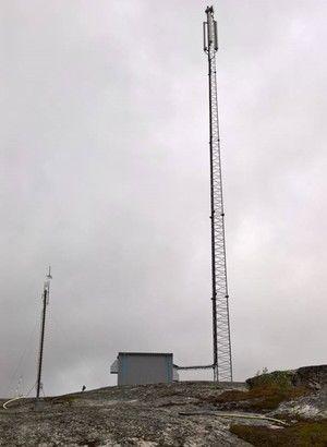 Mast i Lanabukt - åpnes i juni 2016