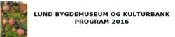 museet 2016 program