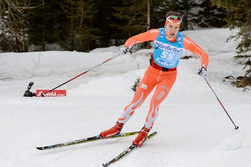 Thomas Gifstad i Ski Classics-rennet Kaiser Maximilian Lauf. Foto: Rauschendorfer/NordicFocus.