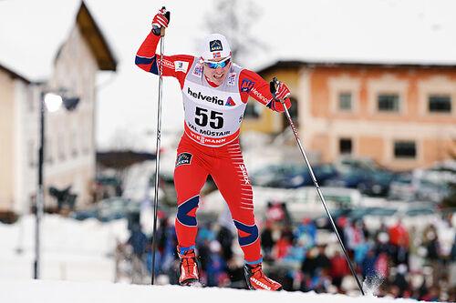 Snorri Einarsson i Tour de Ski. Foto: Felgenhauer/NordicFocus.