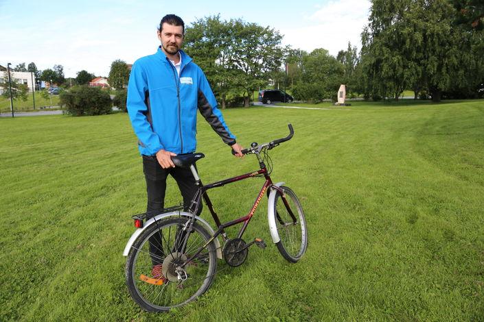 Theodor sykkelparkering