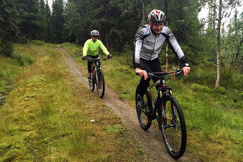 Fra strekningen Bjønnåsen til Nysetra i den nye traséen for Birkebeinerrittet. Foto: Randi Bolstad/Birken AS.