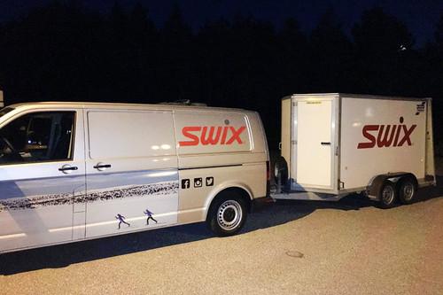 Swix sitt racingteam på Toppidrettsveka 2016. Foto: Geir Nilsen/Langrenn.com.