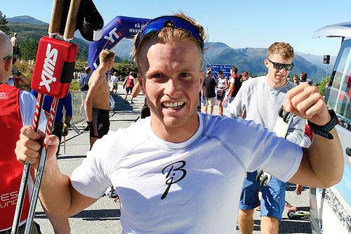 Gaute Kvåle. Foto: Geir Nilsen/Langrenn.com.