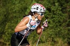 Heidi Weng i Toppidrettsveka. Foto: Geir Nilsen/Langrenn.com.