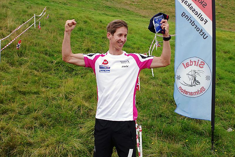 Anders Tettli Rennemo vant historiens første Sirdal Multisport. Arrangørfoto.