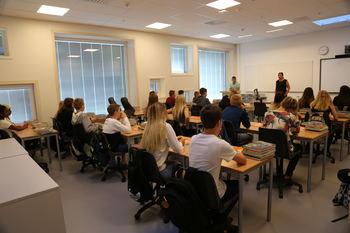 Vestmyra nye skolestart klasserom