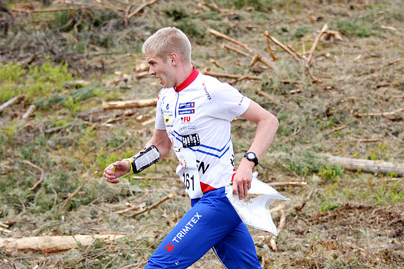 Olav Lundanes endte på 14. plass i verdenscupsrinten i Latvia, men ligger godt an i sammendraget. Foto: Geir Nilsen/Langrenn.com.